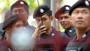 رجال الشرطة التايلندية