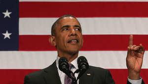 الرئيس الأمريكي باراك أوباما أراد تلطيف الأجواء مع ميركل