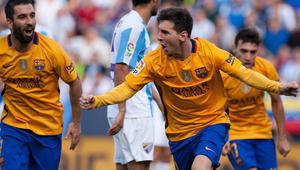 مهمة صعبة لبرشلونة أمام ملقا في ملعب