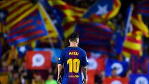 """برشلونة يلعب ضد لاس بالماس دون جماهير ردا على رفض رابطة """"الليغا"""" تأجيل المباراة"""