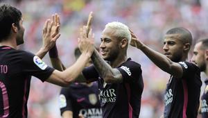 برشلونة يستفيق من كبوة أتلتيكو بهزيمة خيخون
