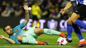 برشلونة يواصل التعثر ويتعادل مع فريق في دوري الدرجة الثالثة