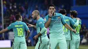برشلونة يقهر أتلتيكو في نصف نهائي الكأس ويقترب من النهائي