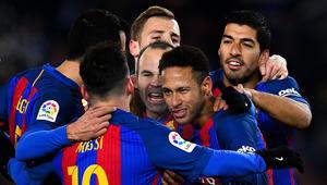 """برشلونة يكسر عقدة استمرت 10 سنوات في """"أنويتا"""" ويقترب من نصف نهائي الكأس"""