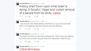 """""""تلاسن"""" على تويتر بين نجمي كرة إنجليزي وإسرائيلي بسبب قصف غزة"""