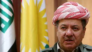 رئيس إقليم كردستان العراق مسعود برزاني