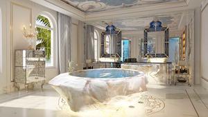 أحواض استحمام بمليون دولار.. داخل فلل