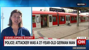 """ألمانيا: قتيل و3 جرحى إثر هجوم بسكين في محطة قطار والشرطة تحقق في صحة صراخ المشتبه به بـ""""الله أكبر"""""""