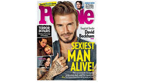 """ديفيد بيكهام يحصد لقب """"الرجل الأكثر إثارة على قيد الحياة"""""""