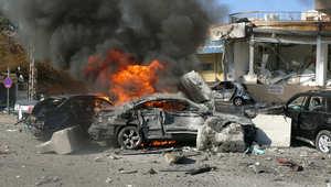 تفجير مزدوج في بيروت