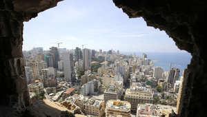 منظر عام للعاصمة اللبنانية، بيروت