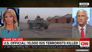 المحلل العسكري بـCNN: تقارير مقتل 10 آلاف عنصر بداعش لا تقيم الأوضاع على الأرض بالعراق.. وسببان يجذبان التنظيم للسيطرة على السدود