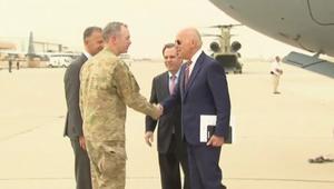 بالفيديو: نائب الرئيس الأمريكي يصل العراق في زيارة مفاجئة