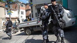 الشرطة البرازيلية انتشرت في شوارع العاصمة ريو دي جانيرو خلال الانتخابات الرئاسية الأخيرة