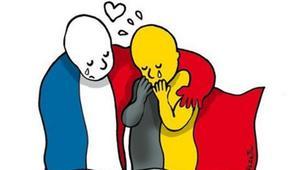 بالصور: كيف عبّر الفن عن الحزن والألم من تفجيرات بلجيكا؟