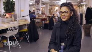 شابة هندية تؤسس شركة ملابس