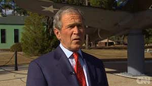 مع اقتراب صدور تقرير التعذيب خلال فترة ولايته.. بوش: سيكون هناك تقرير مضاد