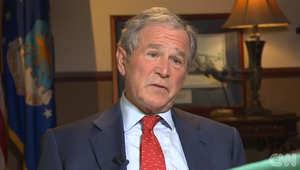 بوش يعلق لـCNN على حرب داعش واستراتيجية أوباما ضد التنظيم