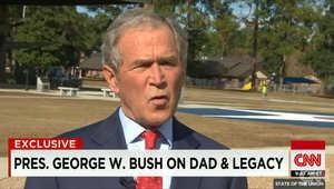 بوش يتحدث لـCNN عن إرث ابيه وعن كتابه