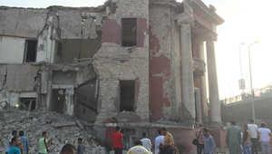 مصر.. انفجار ضخم قرب القنصلية الإيطالية بالقاهرة