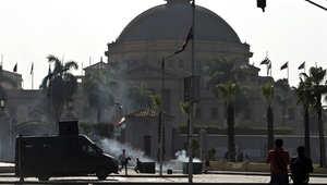 """مصر.. 10 جرحى بانفجار استهدف نقطة أمنية بميدان """"النهضة"""" أمام جامعة القاهرة"""