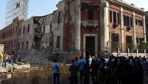 """بيان منسوب لـ""""داعش"""" يؤكد تبنيه تفجير مبنى القنصلية الإيطالية بالقاهرة"""