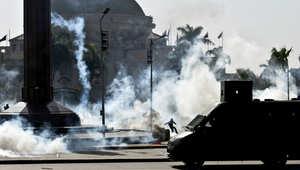 مقتل طالب في اشتباكات بين طلاب الإخوان والشرطة بجامعة القاهرة