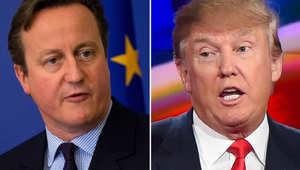 هل تمنع بريطانيا دونالد ترامب من الدخول لحدودها؟