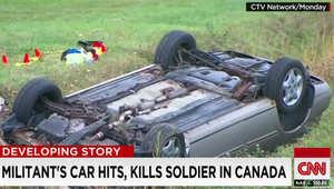 """مقتل كندي اعتنق """"الإسلام المتشدد"""" بعد دهسه لجنديين من الجيش بسيارته"""