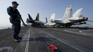 تحطم مقاتلتين أمريكيتين بالمحيط الهادئ ومصير أحد الطيارين مازال مجهولاً