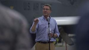 """تمهيدا لزيارة أوباما للخليج.. كارتر من الإمارات: نتطلع إلى بذل حلفائنا المزيد من الجهد ضد """"داعش"""" في سوريا والعراق"""