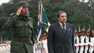 بوتفليقة يعلن الحداد ثمانية أيام إثر وفاة كاسترو: رحيله خسارة كبرى للجزائر