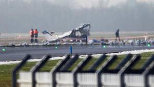 """تصادم بين مقاتلة """"إف 16"""" وطائرة صغيرة بكارولينا الجنوبية"""