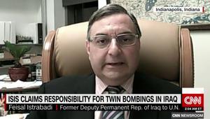 النائب السابق لممثل العراق بالأمم المتحدة لـCNN: الكل يريد حكومة تكنوقراط ولكن لا يوجد اتفاق على الجوهر