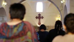 داخل كنيسة عراقية