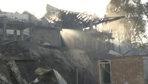 شاهد.. حرائق ضخمة تدمر 100 منزل في تشيلي