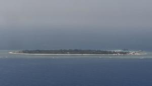 كاميرا CNN تحلق فوق جزر سبراتلي المتنازع عليها في بحر الصين الجنوبي