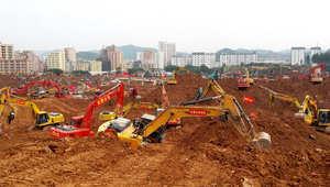 الصين: انتحار مسؤول سابق بعد انهيار غمر عشرات المنازل