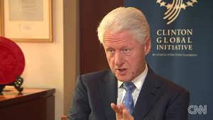 بيل كلينتون يوضح لـCNN موقفه من استراتيجية أوباما لهزم داعش