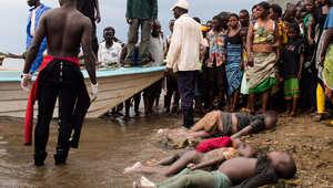 الكونغو: انتشال جثث 107 لاجئين غرقوا أثناء عودتهم من أوغندا