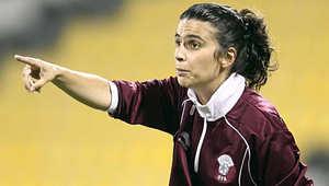مدربة منتخبي قطر وإيران أول سيدة تقود فريقا رجاليا محترفا في أوروبا