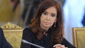 رئيسة الأرجنتين كرستينا فرنانديز