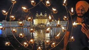 """الهند تتوهج في """"مهرجان الأضواء"""""""