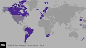 على الخريطة.. المناطق والدول التي تسمح بزواج مثليي الجنس