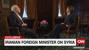 ظريف لـCNN: هناك أخطاء ارتكبت بالبداية في سوريا.. ومن سلح داعش دعم صدام حسين سابقا
