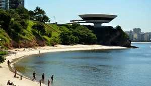 متحف نيتروي أحد أبرز معالم مدينة ريو دي جنيرو البرازيلية