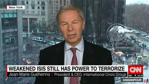 مسؤول دولي لـCNN: الأسد جزء من الصورة بسوريا.. ولا يمكن هزم داعش بالقوة فقط