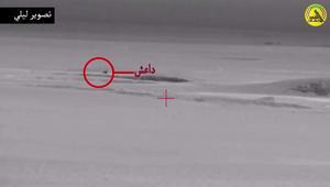 الحشد ينشر فيديو لاعتراض عربة لداعش بالموصل