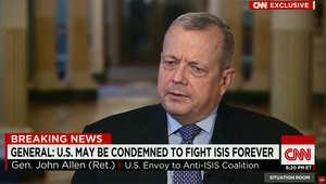 مبعوث أمريكا للتحالف الدولي ضد داعش يوضح لـCNN دور السعودية والإمارات والأردن.. ويؤكد: نراقب توسع التنظيم خارج المنطقة