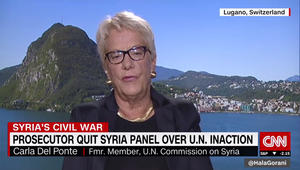 كارلا دي بونتي تبين لـCNN سبب استقالتها من الجنة الأممية حول سوريا